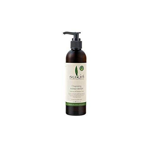 Sukin Cleansing Hand Wash (250ml) (Pack of 6) - クレンジングハンドウォッシュ(250ミリリットル) x6 [並行輸入品] B072L44D3H