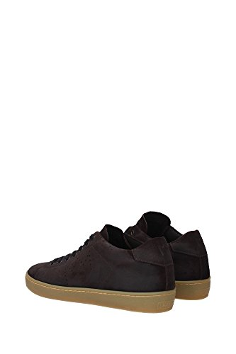 online cheap quality outlet from china Leather Crown Sneakers Men - (M136COFFEEAMBRA) UK Brown outlet under $60 IqraFU