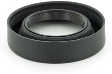 Albinar 58mm Universal Telematic Wide//Zoom 3 Position Rubber Lens Hood