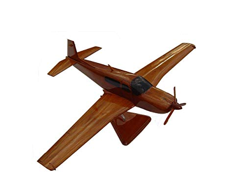 Mooney M20 Mahogany wood Airplane model (SHIPS in 48 hours)