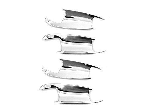 Deltalip Chrome Insert Exterior Door Handle Cover For Mercedes W212 E250 E350 E63AMG