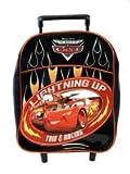 Disney Pixar CARS Rolling backpack – Mator Toddler size Blazing Trails Cars luggage back pack, Bags Central
