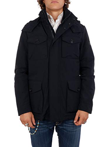 Blu Wocps26943989 Uomo Giacca Woolrich Poliestere Outerwear waXZxg