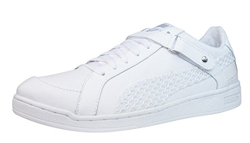 Puma The Key Lo Net Dames Lederen Sneakers / Schoenen - Wit