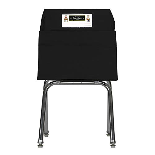 Seat Sack Storage Pocket, Large, 17 Inches, Black]()