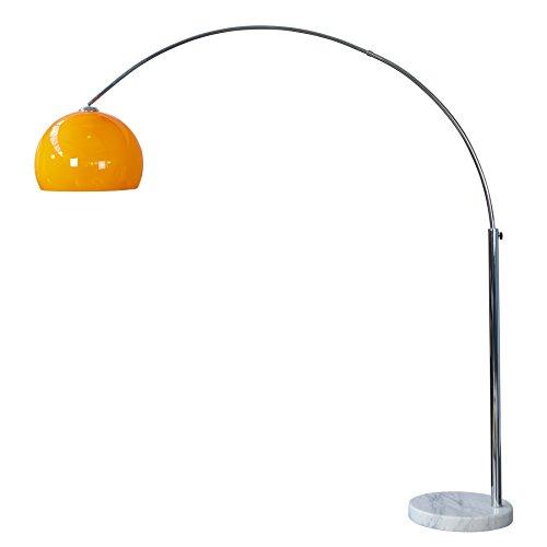 Reviewmeta Com Warn Design Bogenlampe Lounge Deal Orange