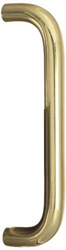 8 Brass Door Pull (Rockwood 107.3 Brass Straight Door Pull for 1-3/4