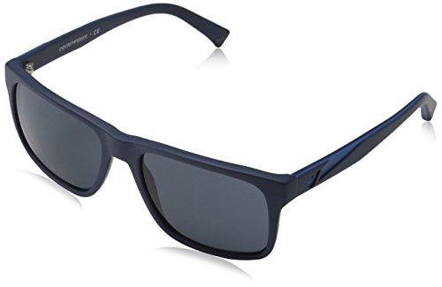 de Sol 550487 Matte Armani Unisex Emporio Blue Adulto Gafas qEfwt