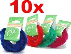 10 Paar Fahrrad Naben-Putzringe