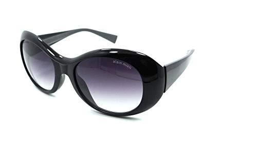 Alain Mikli Sunglasses A01312 P012 54-19-130 Black - Grey/Smoke Gradient Japan (Mikli Sunglasses)