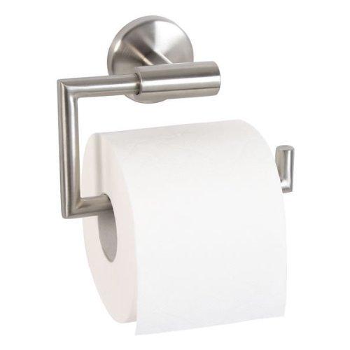 Bad-Serie-Piazza - Toilettenpapierhalter, aus hochwertigem Edelstahl, matt