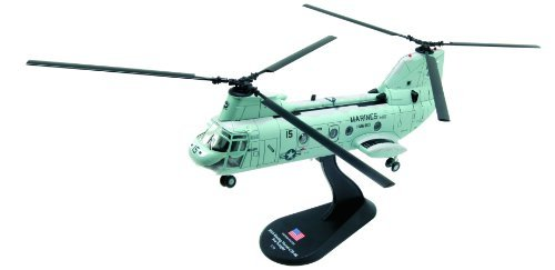 Boeing Vertol CH-46 Sea Knight diecast 1:72 model (Amercom HY-13)