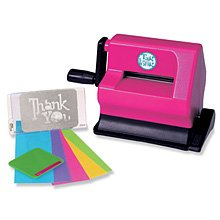 Systems Cutting Die (Tag-a-long Personal Die-cutting & Embossing System + bonus!)