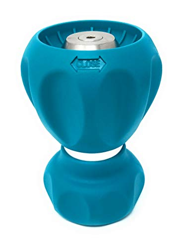 Ultimate Fireman's 5 Spray Pattern Hose Nozzle (Teal)