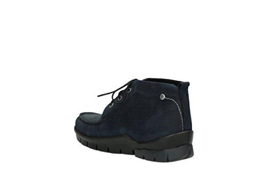 11802 Oliato Pizzo Wolky Cw Stivali Nubuck Comfort Blu Nebbiosa wCX0qxnS