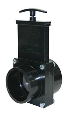 "Valterra 5302 ABS Gate Valve, Black, 3"" Slip x Spig from Valterra Products"
