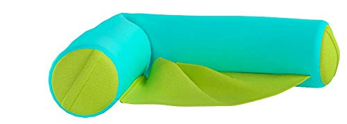 affordable Big Joe 2045853 Noodle Sling Aqua with Lime seat, One Size,