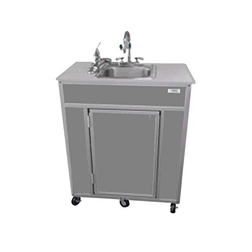 Monsam PSE-2001E Portable Eye and Face Washing Station, Grey by Monsam Enterprises