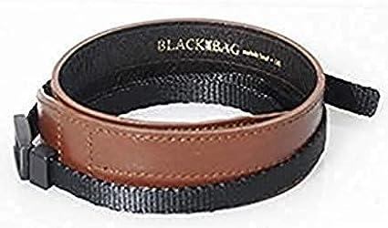 Black Label Bag Wide Strap Dark Brown