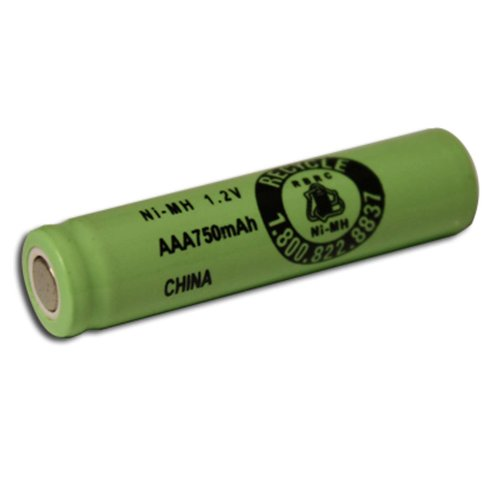 Exell 1.2V 750mAh NiMH AAA Rechargeable Battery Flat Top Cell Fast USA Ship