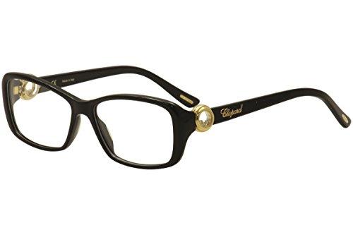 Chopard Women's Eyeglasses VCH140S VCH/140S 0700 Shiny Black Optical Frame 55mm ()
