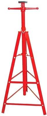 9TRADING Heavy Duty 2 Ton auto Shop Steel Red Under Hoist Mount Tripod Stand underhoist