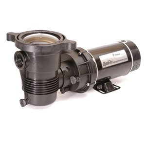Pentair 347981 OptiFlo Horizontal Discharge Aboveground Pool Pump with Cord and Standard Plug, 3/4 ()
