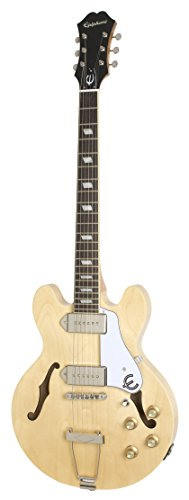 Epiphone CASINO Coupe Thin-Line Hollow Body Electric Guitar, Natural
