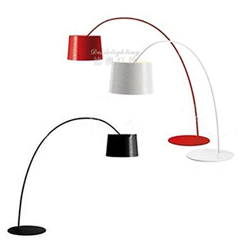 Die moderne Aluminium Leuchte Wohnzimmer Stehleuchte kreative Carbon Rute angeln Leuchten, schwarz