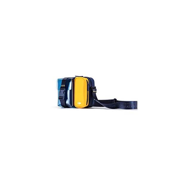 DJI Mavic Mini Bag Borsa per Trasporto Drone Mavic Mini e accessori, Comoda per Portare il tuo Mavic Mini Sempre con te, Disponibile in Tre Colori, Blu/Giallo 3 spesavip