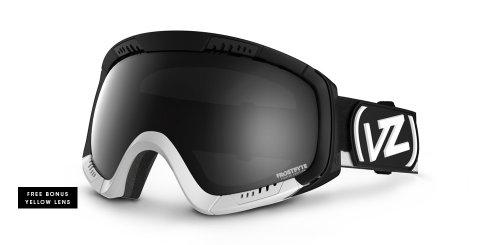 VonZipper Feenom Spherical Snow Goggle, Black Chrome