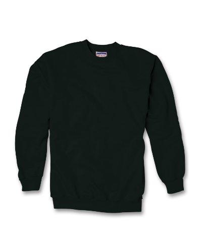 Heavyweight Fleece Sweatshirt, Black, Large ()