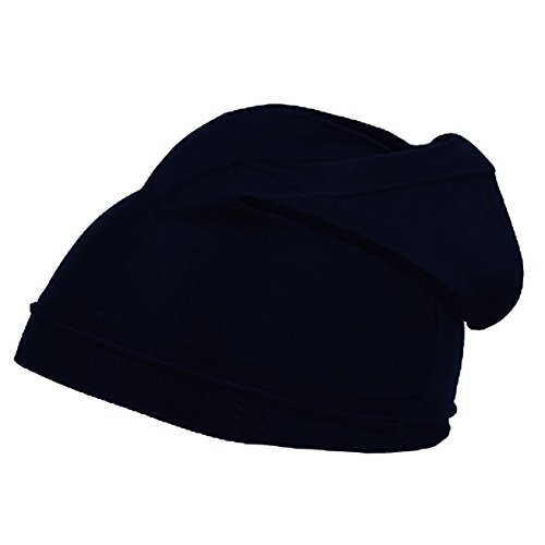 [Original Skull Cap Classic One Size Fits Most in Style or Sports Wear High Performance Sweat Moisture Wicking Quick Dry Helmet Liner / Cycling Cap. Fits under Helmets & Hats (Navy)] (Acting Moisture)