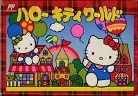 Hello Kitty World, Famicom Japanese NES Import by Character Soft