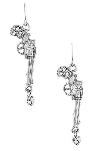 DIVA & DUCHESS RIFLE EARRING (Silver)