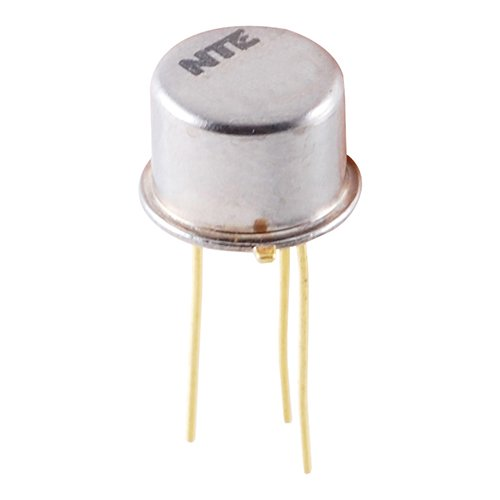 NTE Electronics NTE396 NPN Silicon Transistor, Power Amplifier & High Speed Switch, TO39 Type Package, 450V, 1 Amp
