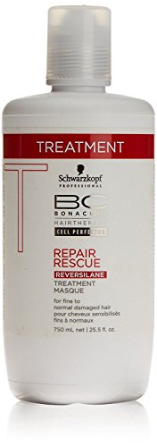 Rescue Deep Conditioner - Schwarzkopf Bonacure Repair Rescue Reversilane Deep Nourishing Treatment (25.5 oz)