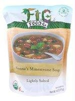 Fig Food Organic Nonna's Minestrone Soup Lightly Salted, 14.5 Ounce