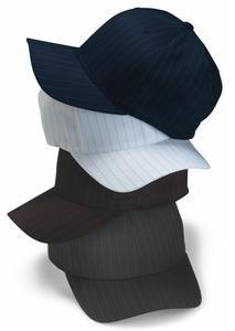 bcb1f133834c4 FlexFit Pinstripe Cap - 6195P (Gray   S M)