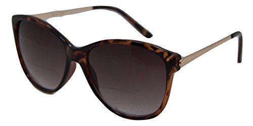 In Style Eyes Posh Womens Bifocal Sunglasses Dark Tortoise - In The Dark Sunglasses