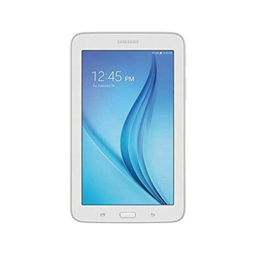 2019 Samsung Galaxy Tab E Lite 7″ 1024 x 600 Pixels 8GB Tablet, Bluetooth, Wi-Fi, Android 4.4, White