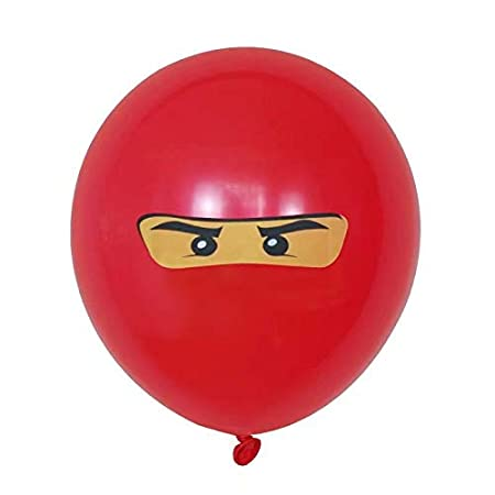LIZHIOO 10pcs / Set for niños Niños Ninjago Theme Birthday ...