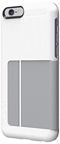 size 40 1b434 79a1e iPhone 6S Case, Incipio Highland Premium Folio [Credit Card Case] Wallet  Folio fits both iPhone 6, iPhone 6S - White/Gray