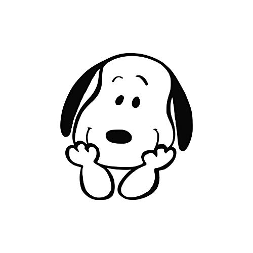 (Crazy Discount Snoopy Peanuts Woodstock Vinyl Sticker Decal Outside Inside Using for Laptops Water Bottles Cars Trucks Bumpers Walls, 3