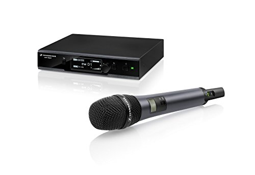 Sennheiser EW D1-835S Evolution Wireless D1 Digital Vocal System with Handheld Microphone E835 Dynamic Cardioid Capsule