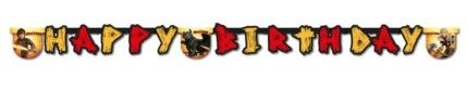 2m How To Train Your Dragon Birthday Banner -