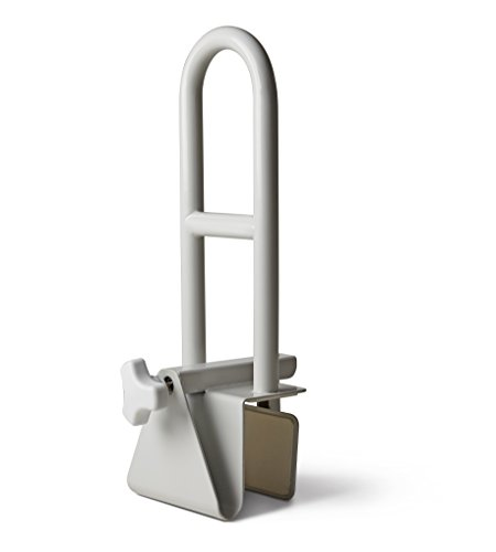 Medline Bathtub Bar Locks Side