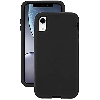 EMERGE ULTRA FORCE iPhone XS / iPhone X Protective Cell Phone Case with Holster and 10 Foot Drop Protection - Black