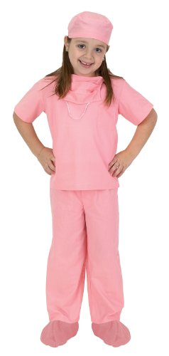 Aeromax Jr. Doctor Scrubs, available in Blue or Pink (Scrub Vet)