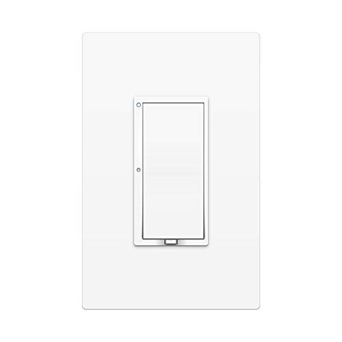 Insteon 2477S Smart On/Off Wall Switch, Dual-Band, 1800 Watt (White) - Works with Alexa & Google Assistant via Insteon Hub